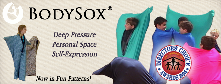 BodySox bodysocks, Provides Tactile and Proprioceptive input for Sensory Integration and Self Expression for Children and Adults.