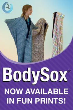 Bodysox Prints sensory play, movement therapy, autism, creative movement