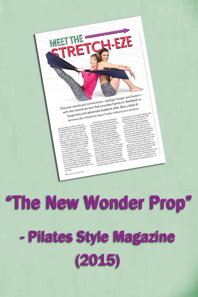 Pilates Style Magazine Stretch-eze Resistance Band
