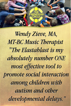 Elastablast music dance therapy for autism, special needs