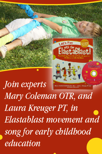 Elastablast early childhood education movement and song