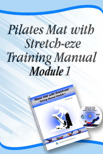 Stretch-eze pilates mat training