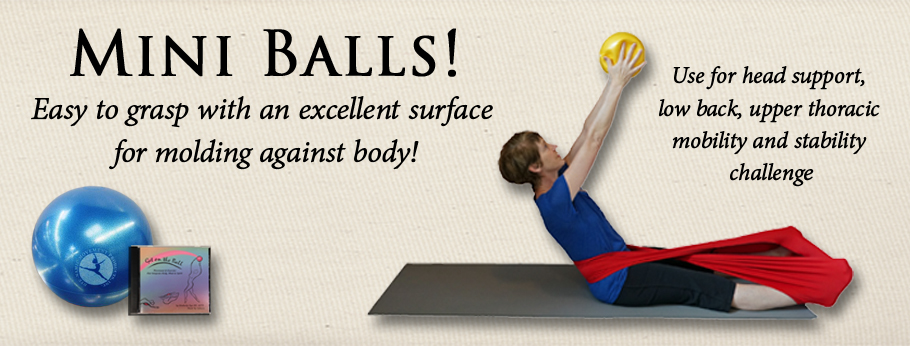 mini ball, exercise balls, balls for Pilates mat, yoga, low back, cervical support