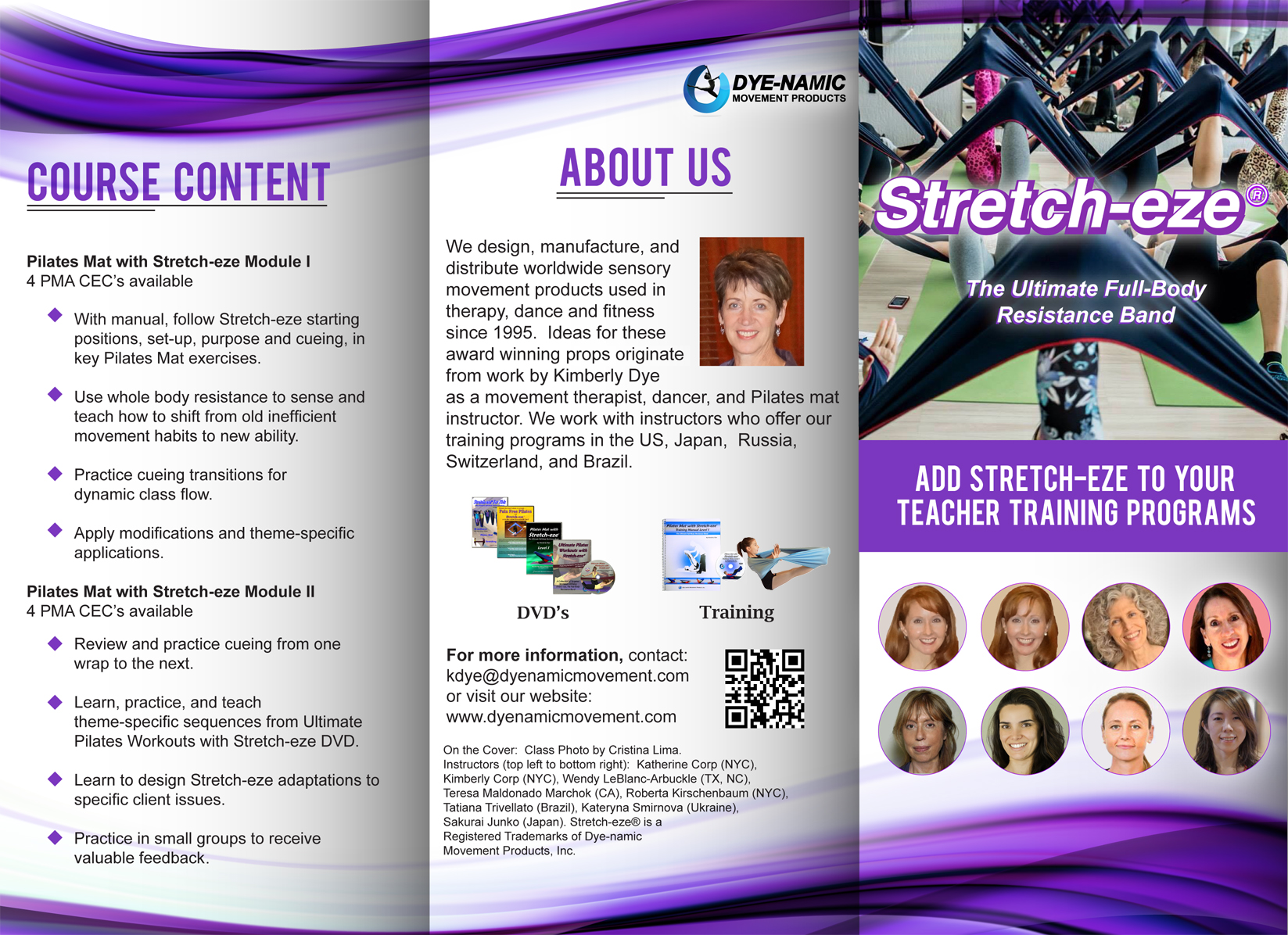 Stretch-eze Training Brochure